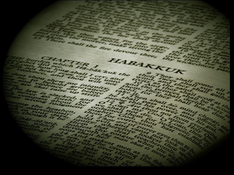 Book Habakkuk